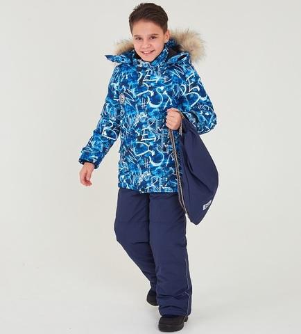 Batik Зимний комплект Ринг 447-22з синий
