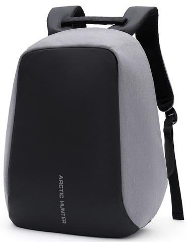 Рюкзак-антивор  ARCTIC HUNTER 1590 USB Серый
