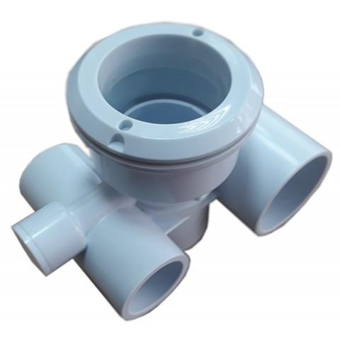 Корпус для гидромассажной форсунки из ABS, пластика, d32*50мм PoolKing
