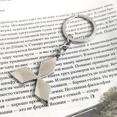Брелок Митсубиси (Mitsubishi) для ключей автомобиля с логотипом