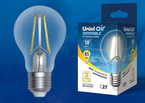 LED-A60-10W/3000K/E27/CL/DIM GLA01TR Лампа светодиодная диммируемая. Форма