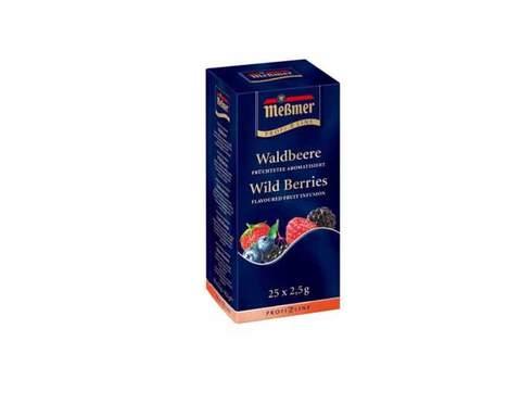 Чай фруктовый в пакетиках Messmer Лесные ягоды, 25 пак/уп, 1,75 г