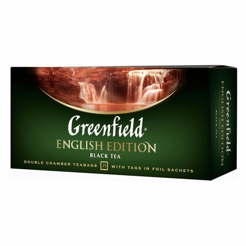 Чай GREENFIELD English Edition черн 25*2 г п/пак РОССИЯ