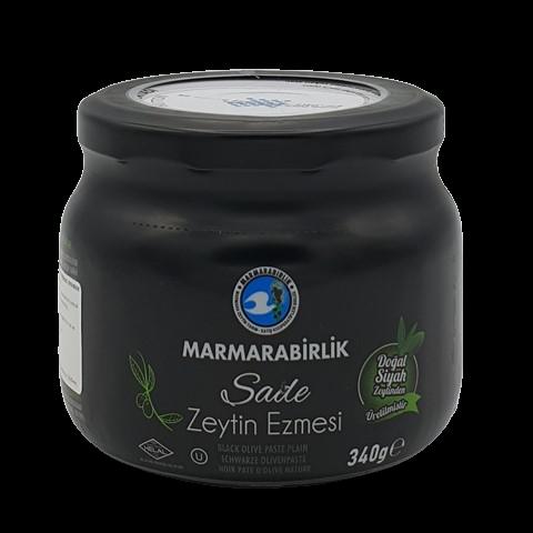 Паста из черных оливок MARMARABIRLIK, 340 гр