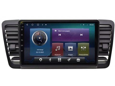 Магнитола для Subaru Legacy/Outback (03-09) Android 10 4/64GB IPS DSP 4G модель CB-23696TS10