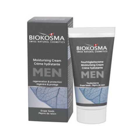 Увлажняющий крем для лица мужской Biokosma, 50 мл