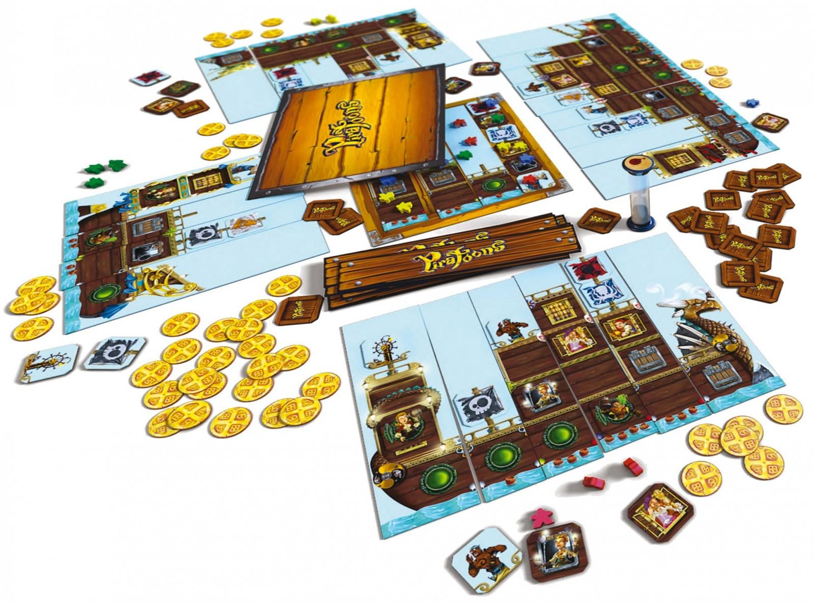 Настольная игра Пиратунс