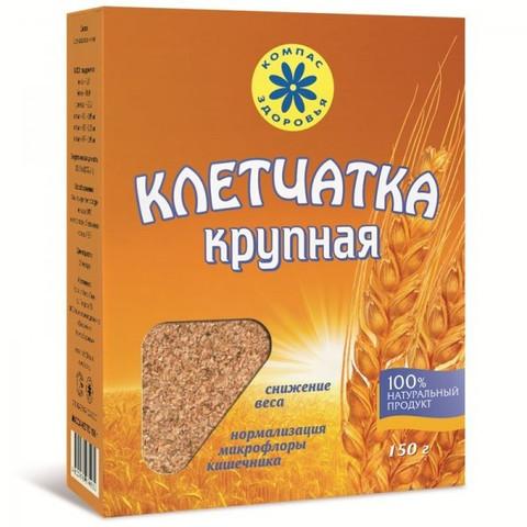 Компас здоровья клетчатка пшеничная крупная 150 г