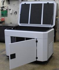 Всепогодное шумозащитное укрытие для генератора, модель SB1400