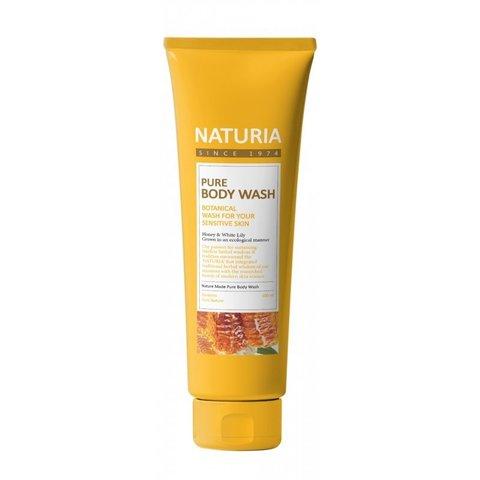 Гель для душа на основе натуральных экстрактов 100 мл Naturia Pure Body Wash
