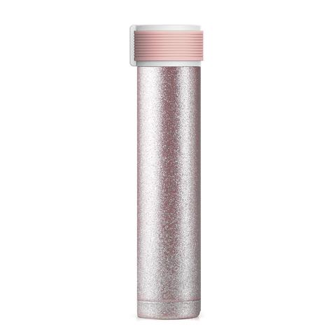 Мини-термос Asobu Skinny Glitter (0,23 литра), светло-розовый