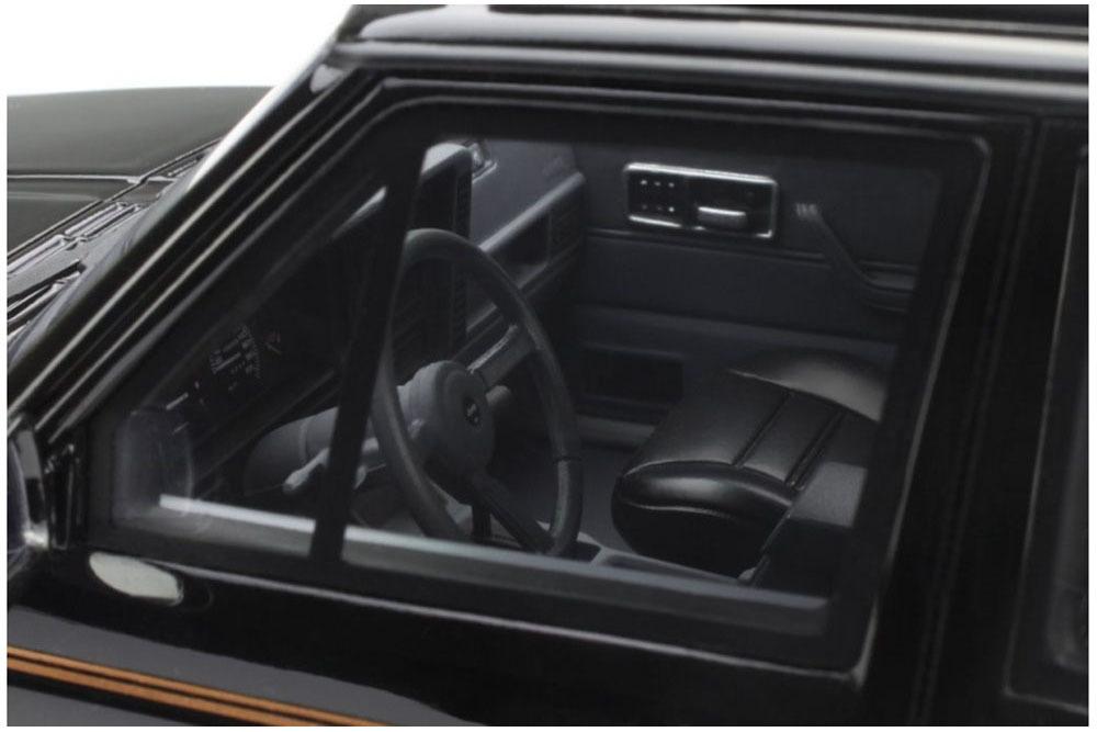 Коллекционная модель Jeep Cherokee Limited 1984 Black