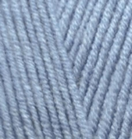 Пряжа Alize Lanagold 221 светлый джинс