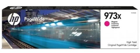 Картридж HP F6T82AE 973X пурпурный