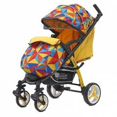 Прогулочная коляска Cosmic Alu Рант цвет yellow