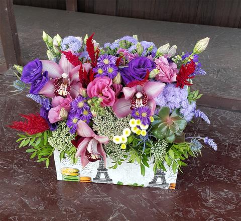 Ящик с цветами Экзотика 3
