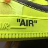 Off-White x Nike Air Force 1 Low 'Volt'