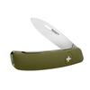 Швейцарский нож SWIZA D02 Standard, 95 мм, 6 функций, темно-зеленый