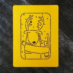 Олень №10 открытка
