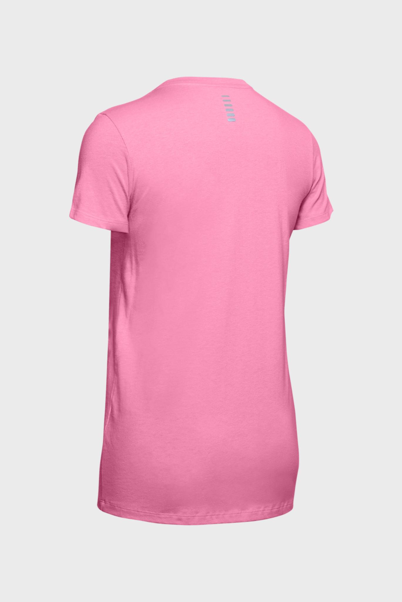 Женская розовая спортивная футболка W UA Love Run Another Short Sleeve Under Armour