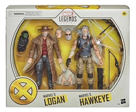 Marvel Legends Marvel's Hawkeye and Marvel's Logan || Старик Логан и Старик Хоукай