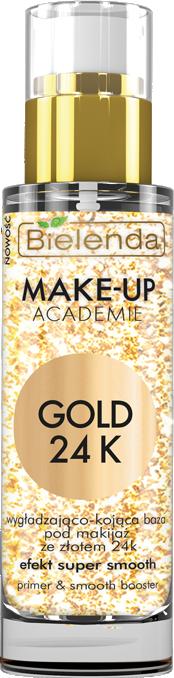 MAKE-UP ACADEMIE GOLD 24K Разглаживающая и успокаивающая база под макияж 30мл