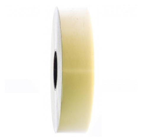Лента полипропиленовая (размер: 30 мм х 100 м), цвет: светло-желтый
