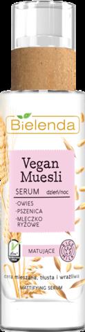 VEGAN MUESLI матирующая сыворотка пшеница + овёс + рисовое молоко 30 мл