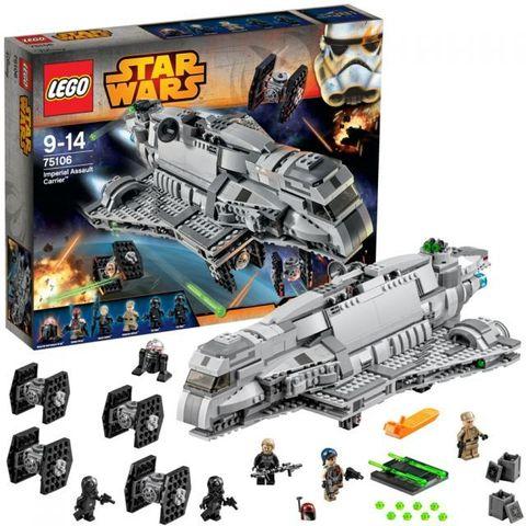 LEGO Star Wars: Имперский десантный корабль 75106 — Imperial Assault Carrier — Лего Стар ворз Звёздные войны Эпизод