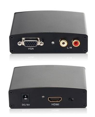 Конвертер из VGA - HDMI, с блоком питания от 220В (от VGA на HDMI)