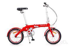 складной велосипед SHULZ Hopper красный