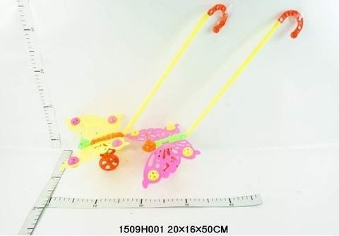 Каталка 1509Н001/ В1416415 Бабочка с ручкой (СБ)
