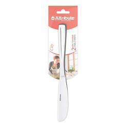 Нож столовый Attribute 21.3 см 2 штуки в упаковке (артикул производителя ACC 242)