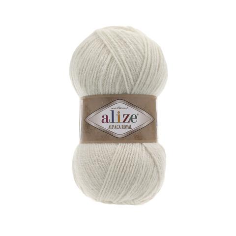 Пряжа Alize Alpaca Royal бежевый 152