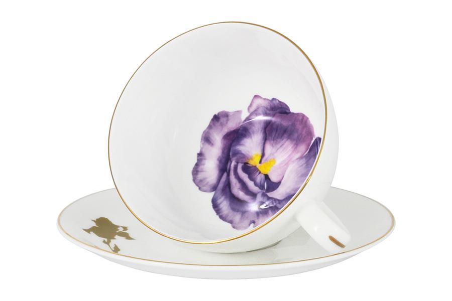 Чашка с блюдцем Iris в подарочной упаковке