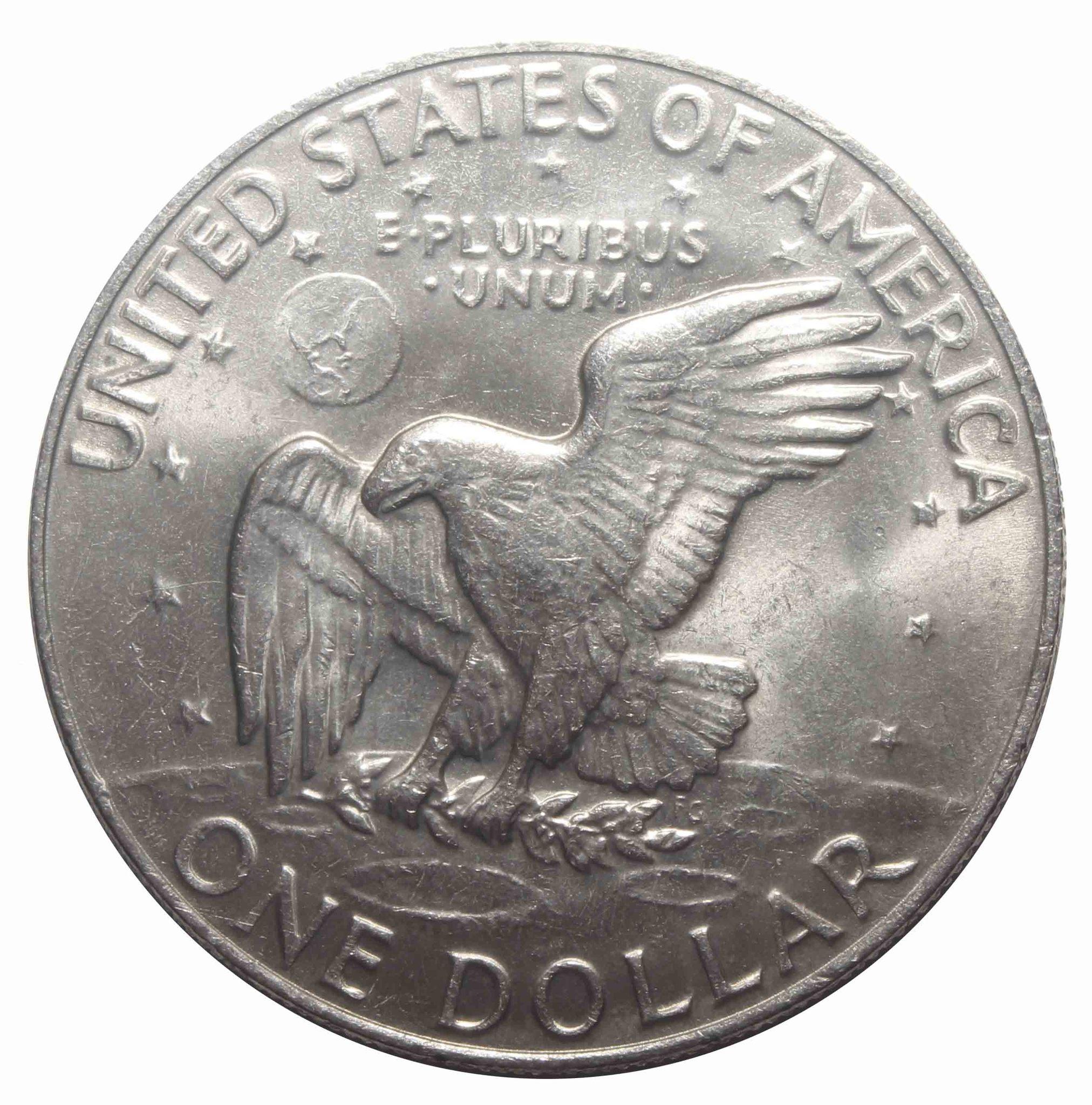 1 доллар 1978 США Эйзенхауэр XF (Лунный)