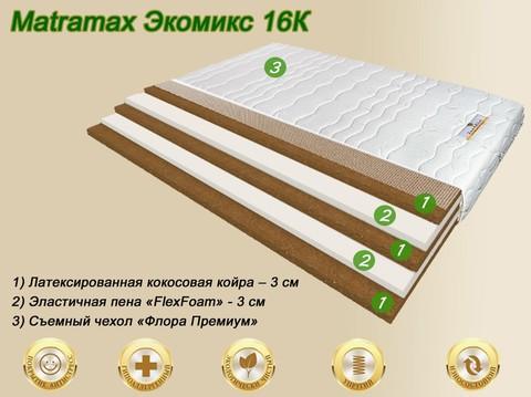 Матрас Матрамакс Экомикс 16К в Megapolis-matras.ru