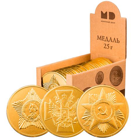 Шоколадные монеты  Сладкая жизнь ИП Цой Н.Н. 1шт
