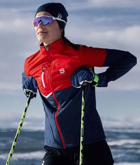 Куртка для Лыж и Зимнего бега Bjorn Daehlie Kikut Estate Blue Женская
