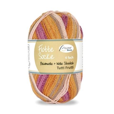 Flotte Socke Baumwolle Stretch Tutti Frutti 1410