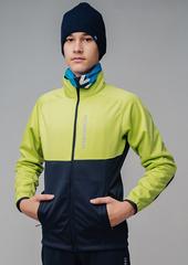 Утеплённая лыжная куртка Nordski Jr. Premium Green-Blueberry 2020 детская