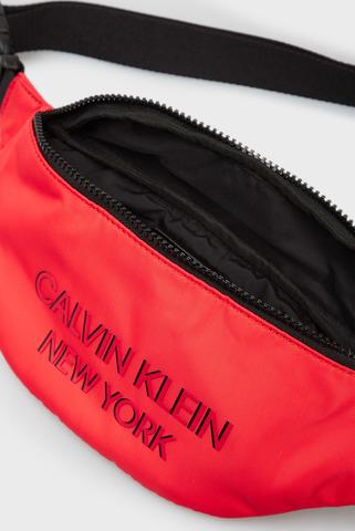 Мужская красная поясная сумка WAISTBAG NY Calvin Klein