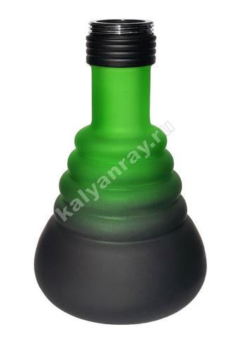 Колба Amy 4 Star 420 Чёрный матовый (PSMBK) / Зелёный (GR)
