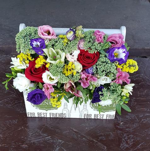 Ящик с цветами Экзотика 4