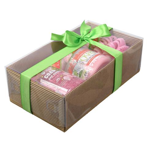 Подарочный Банный набор «Фруктовый лифтинг» 6 предметов