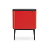 Мусорный бак Touch Bin Bo (36 л), Пламенно-красный, артикул 315749
