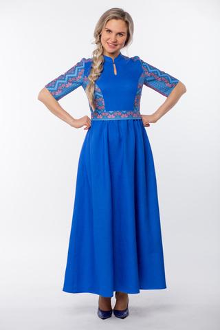 Платье Вольная вода макси
