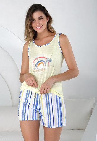 Пижама женская с шортами Massana MP_211236
