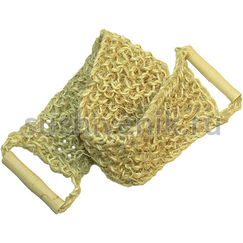 Мочалка из сизаля крупной вязки
