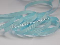 Лента репсовая светло-голубая ширина 6, 9, 22 и 38 мм